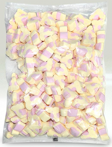 WOS01 EASTER CHICK MALLOWS 1KG